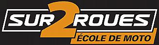 École de moto sur 2 roues Logo